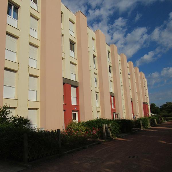 location T2 dans résidence  Roanne