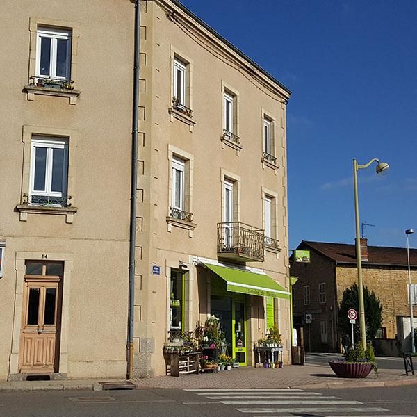 Appartement de type 3 à Pouilly sous Charlieu