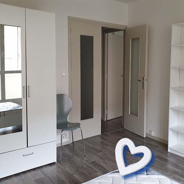 appartement meublé type 1 à Roanne